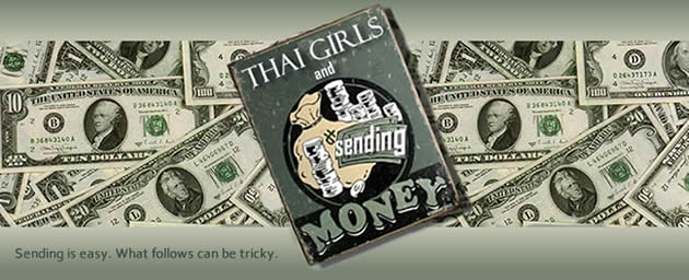 Thai girls and sending money